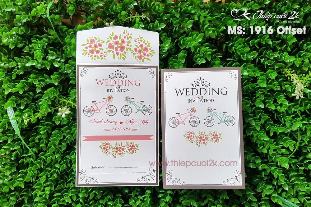 Thiệp cưới đẹp - giá rẻ